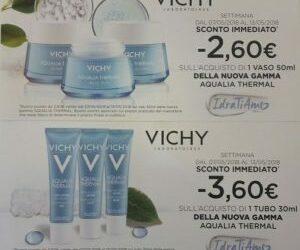 Settimana lancio nuova linea Vichy Aqualia Thermal